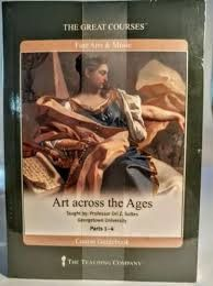 Great Courses ART ACROSS THE AGES DVD Set Teaching Company Fine Arts Music