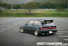 CAR FEATURE>> OSAKA JDM EF9 HONDA CIVIC - Speedhunters | Speedhunters #HONDA #ACCORD Wheels Rims goo.gl/dgO7LB