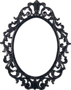 PSD Detail | Ornate Pewter Frame | Official PSDs