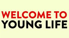 Young Life Club Intro Video--great to play as people are entering club