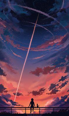 grafika art and cat – Anime Wallpaper Anime Scenery Wallpaper, Wallpaper Backgrounds, Fantasy Landscape, Landscape Art, Fantasy Art Landscapes, Animes Wallpapers, Cute Wallpapers, Japon Illustration, Aesthetic Art