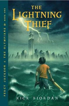 The first in the Percy Jackson series. Great for kids who love Greek mythology!