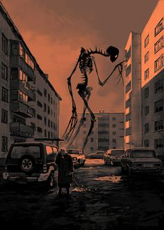 creepy old monster album Dark Fantasy Art, Fantasy Kunst, Fantasy Love, Arte Horror, Horror Art, Fantasy Creatures, Mythical Creatures, Arte Obscura, Creepy Art