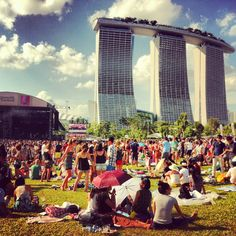 Laneway, the indie music fest, from Melbourne to Singapore!