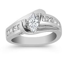 This one is beautiful, make the diamond a heart or simple circle would make it a lot better.