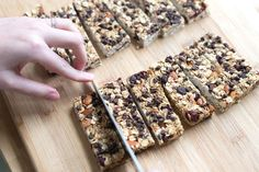 Chewy Granola Bar Recipe