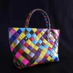 This made of some colored packing tapes.  http://ducttape378.blog113.fc2.com/