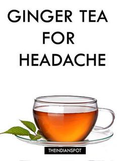 TOP HOME REMEDIES TO GET RID OF HEADACHE