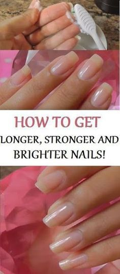 Every female would like to have long healthy and strong nails. However, that's not so easy to attain the achievements. There are different reasons why you can't have nice and strong nails: bad perf… Nail Growth Diy Nails Soak, Nail Soak, Beauty Hacks For Teens, How To Grow Nails, Grow Nails Fast, Bright Nails, Strong Nails, Nail Treatment, Healthy Nails