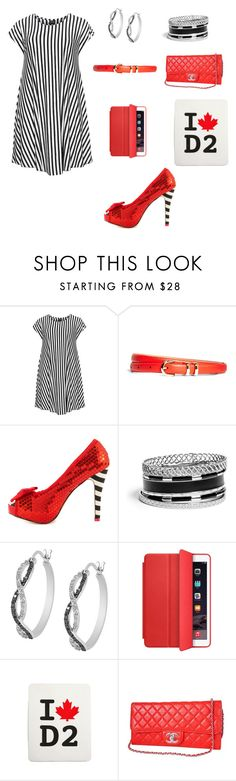 """""""Rocking in Red"""" by vain-vanny ❤ liked on Polyvore featuring Choise, Brooks Brothers, Iron Fist, GUESS, Jewel Exclusive, Apple and Dsquared2"""