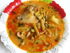 Palócos csirkegulyás (Gluténmentesen is) Thai Red Curry, Ethnic Recipes, Food, Essen, Yemek, Meals