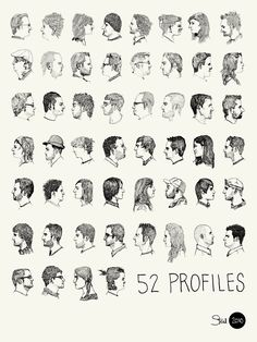 52 profiles/sketch idea