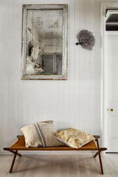 Kara Rosenlund's home.  WABI SABI Scandinavia.