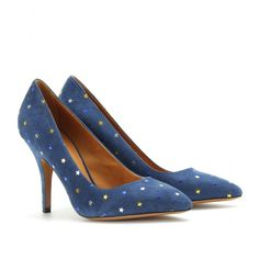 Isabel Marant - ANAID SUEDE STAR PUMPS