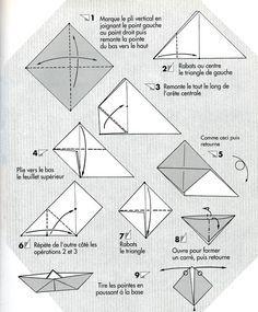 bateau en papier dessin origami paper crafts et origami folding. Black Bedroom Furniture Sets. Home Design Ideas