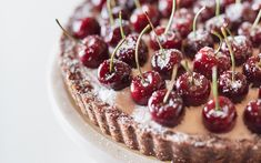 <p>In this recipe, a rich and sweet chia cherry jam sits between a raw pie crust made from seeds and dates and a cool, creamy layer of coconut yogurt.</p>