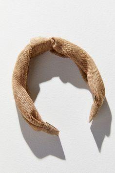 Top Knot Headband | Urban Outfitters Ponytail Hairstyles, Hairstyles Haircuts, Wedding Hairstyles, Men's Hairstyle, Wedding Ponytail, Wedding Headband, Headband Wrap, Undercut Men, Long Wavy Hair