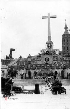 La Cruz y sus Caídos 1954 | por GAZA - Gran Archivo Zaragoza Antigua