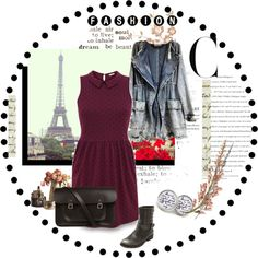 """FRANCE look"" by krajobrazy on Polyvore"