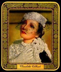 German Cigarette Card - Claudette Colbert | by cigcardpix