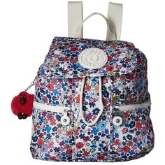 Kipling Kieran Small Backpack (Glorious Traveler) Backpack Bags ($104) ❤ liked on Polyvore featuring bags, backpacks, monkey backpack, drawstring backpack, kipling backpack, travel rucksack and travel backpack