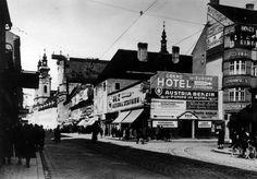 Landstraße Mozartkreuzung ca. 1930