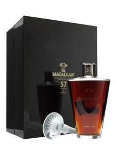 Macallan 57 Year Old Speyside Whisky Lalique Crystal