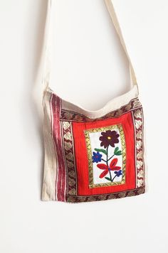 Sile fabrics bag with red otantic fabric Tote bag,Diaper bag,Shopping bag,Market bag,Document bag,Carryall bag,shoulder bags,hippie bags on Etsy, $19.99