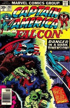 Captain America #202 - Mad, Mad Dimension!