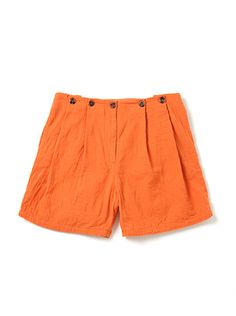 coral crush. bodkin trillium shorts in papaya. $276.