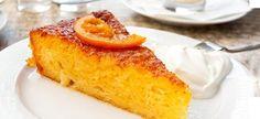 Λιγουρεύεστε τα σιροπιαστά κομμάτια πορτοκαλόπιτας στο ζαχαροπλαστείο; Με αυτήν τη συνταγή μπορείτε να τα φτιάξετε σπίτι, με καλύτερη γεύση! Cornbread, French Toast, Breakfast, Ethnic Recipes, Food, Porto, Millet Bread, Morning Coffee, Essen