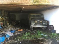 """Very early 1958 Series 2 II Land Rover SWB 88"""" barn find restoration project"""