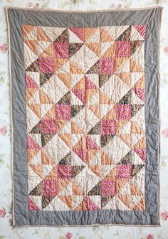 Harvest Moon Decorative Quilt