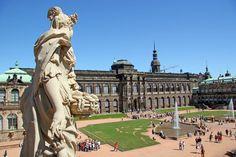 The Zwinger Museum in Dresden.