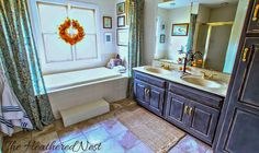 These 4 Amazing Bath Transformations Cost Next to Nothing!: Heather's Zero-Sum Bath Makeover