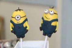 Cake Pops Minions Pop Cake Minions