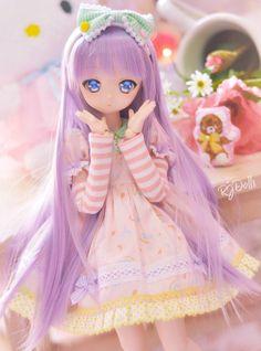 W Fine Porcelain China Diane Japan Ooak Dolls, Blythe Dolls, Barbie Dolls, Ball Jointed Dolls, Pretty Dolls, Beautiful Dolls, Kawaii Doll, Anime Figurines, Dream Doll