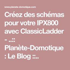 Créez des schémas pour votre IPX800 avec ClassicLadder - ..:: Planète-Domotique : Le Blog ::.. Raspberry, Blog, Home Tech, Blogging, Raspberries
