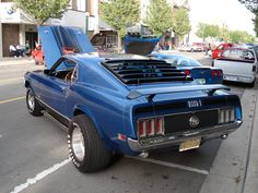 1970 Mustang Mach 1 | 1970 Ford Mustang Mach 1 - 2 by wrestler0708