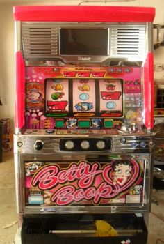 PACHISLO BETTY BOOP VIDEO SLOT MACHINE / 200 TOKENS / 285 PG MANUAL | Collectibles, Casino, Slots | eBay!