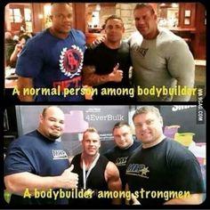 Bodybuilders Vs Strongmen