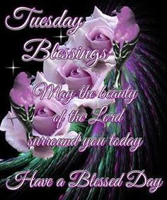 Tuesday blessings! ♥