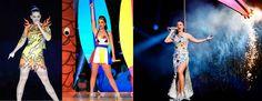 Un enorme leone meccanico fa il suo ingresso insieme a Katy Perry, siglando un'entrata gloriosa. Comete, abiti sexy e ironia per lo show del Super Bowl. http://www.sfilate.it/240187/super-bowl-katy-perry-infiamma-lintervallo-dello-show
