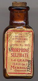 Dubose was addicted to morphine. When Jem was reading to Mrs. Dubose she would have fits. She never heard a word Jem was reading but she thought it would help her anyways. Apothecary Bottles, Antique Bottles, Vintage Bottles, Bottles And Jars, Vintage Advertisements, Vintage Ads, Vintage Posters, Old Medicine Bottles, Vintage Medical