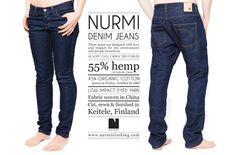 Nurmi Jeans Made in #Keitele, #MadeInFinland