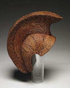Warrior's helmet made by Patrick Horimoto, ca. 1998