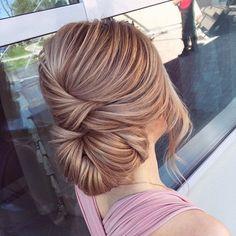 Sleek wedding hairstyle inspiration