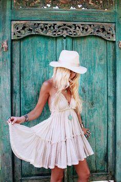 Boho Sweet Backless Ruffled Summer Dress - BEST SELLER!