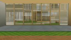 Mod The Sims - Horizontal Curtain Blinds