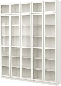 by IKEA BILLY Bookcase with glass-door - $494.97